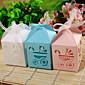 Dárky pro novorozeně Party laskavosti a dárky-12Kusů v sadě Krabice na výslužky Lepenkový papír Zahradní motiv Krychle Nepřizpůsobeno