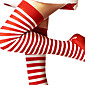 čarape Festival/Praznik Halloween kostime Srebrna / Obala Stockings Božić / New Year Ženka Pamuk