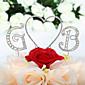 Figurky na svatební dort Nepřizpůsobeno Monogram / Srdce Svatba / 15. narozeniny a sladkých 16 / Výročí / Narozeniny imitace drahokamu