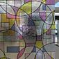 Klasičan stil-Film za prozor-Geometrijski oblici