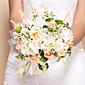 """Cvijeće za vjenčanje Krug Roses Buketi Vjenčanje Svila žuta 10.24 """"(Approx.26cm)"""