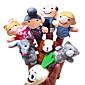 指人形 アイデアおもちゃ斬新さ玩具 おもちゃ アイデアジュェリー 犬 クロス グレー 男の子用 / 女の子