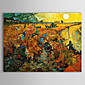 Ručně malované Slavné Jeden panel Plátno Hang-malované olejomalba For Home dekorace