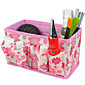 sklopivi četvrtast Kozmetika stalak Kutija šminka četka pot kozmetički organizator (3 boja za izabrati)
