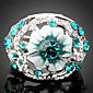 Prstenje Moda Party Jewelry Legura / Kubični Zirconia Žene Prstenje sa stavom 1pc,Univerzalna veličina Zlatna