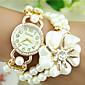 Europski stil modni biser narukvicu vještački dijamant cvijet magnet sat trend sat