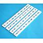 Vier c Alphabet Schneider für Fondant-Kuchen, Kuchen-Design Grenze, Kuchen dekorieren Kit, Kuchenscherblockform 4pcs / set