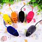 Mačke / Psi Igračke za kućne ljubimce Interaktivan Miš Random boja Guma