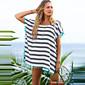 Ženski Kaftan za plažu Color block - Poliester
