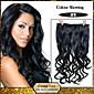 5 klipovi valovita crna, (# 1) sintetičke kose isječak u ekstenzija za žene na raspolaganju više boja