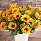 Svila / Plastika Suncokreti Umjetna Cvijeće