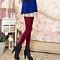 Ženy Polyester Jednobarevné Legging