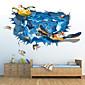 Komiks / 3D Samolepky na zeď 3D samolepky na zeď , PVC 60*90cm