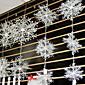 Materiál šetrný k životnímu prostředí Svatební dekorace-1ks / Set Úchyty na okna / ornamenty Vánoce Zahrada / Klasika / Pohádka Stříbrná