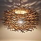 Závěsná světla ,  moderní - současný design Tradiční klasika Venkovský styl Retro Lucerna Země Ostatní vlastnost for LED Dřevo / bambus