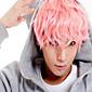 anime cosplay paruka Hot Prodej muži krátké paruka tmavě růžové malé role paruky.
