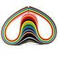 120pcs 5mmx53cm nabran porub papir (24 boja X5 kom / boja) DIY obrt umjetnost ukras