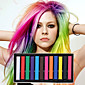 12 boja privremene kreda bojice za kosu netoksičnih boja kose pastela staviti DIY styling alata