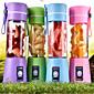 380ml elektrische bewegliche usb Flasche wiederaufladbare Milchshake Saft Mixer Schüttler
