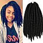 "Jet Black Collection X-TRESS Hair 14"" Havana Mambo Twist Crochet Kanekalon Synthetic Hair Braids Twist"