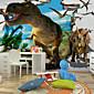 Životinje / Fantazija / 3D Zid Naljepnice 3D zidne naljepnice,Canvas S M L XL XXL 3XL