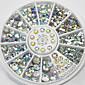 4 veličine 300pcs nail art savjeta kristalima sjaj bižuterija ukras kotača