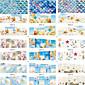 Nail Art Nail Sticker Cijeli Nail Savjet / Prijenos vode Decals / Nakit za nokte
