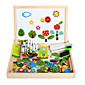 nova magnetska dpell dpell radost, vhildren ¡ť eooden slagalica, beba obrazovne učenje igračke-insekti
