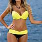 Ženski Bikini-Bandeau grudnjakJednobojni-Poliester