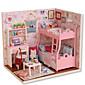 ručno sastavljen Model DIY kabina kreativni rođendanski poklon