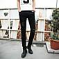 Pánské Jednobarevné Denní nošení Bavlna Oblekové Černá