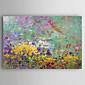 Ručno oslikana Pejzaž ulja na platnu,Moderna Jedna ploha Platno Hang oslikana uljanim bojama For Početna Dekoracija