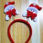 Božićni ukras stavke Božić svjetlo glava bend ukosnica dizajn je slučajna