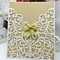 Non-personalizaton Zamotajte & Pocket Vjenčanje Pozivnice Pozivnice-10 Piece / Set Butterly Style Pearl papira Uzde