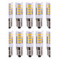 10Pcs Drát Others E14 51Led Smd2835 5w  850Lm AC220   White Warm Natural White Small Ceramic Corn Lamp Other