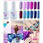 Lak za nokte UV gel 15ml 1picec Glitters / UV gel u boji Soak off dugotrajnim