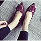 Žene Ravne cipele Ostalo Umjetna koža Aktivnosti u prirodi Crna Boja vina