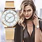 Dámské Hodinky k šatům Módní hodinky Náramkové hodinky Japonské Quartz imitace Diamond Nerez Kapela Retro Přívěsek Náramek Stříbro Zlatá