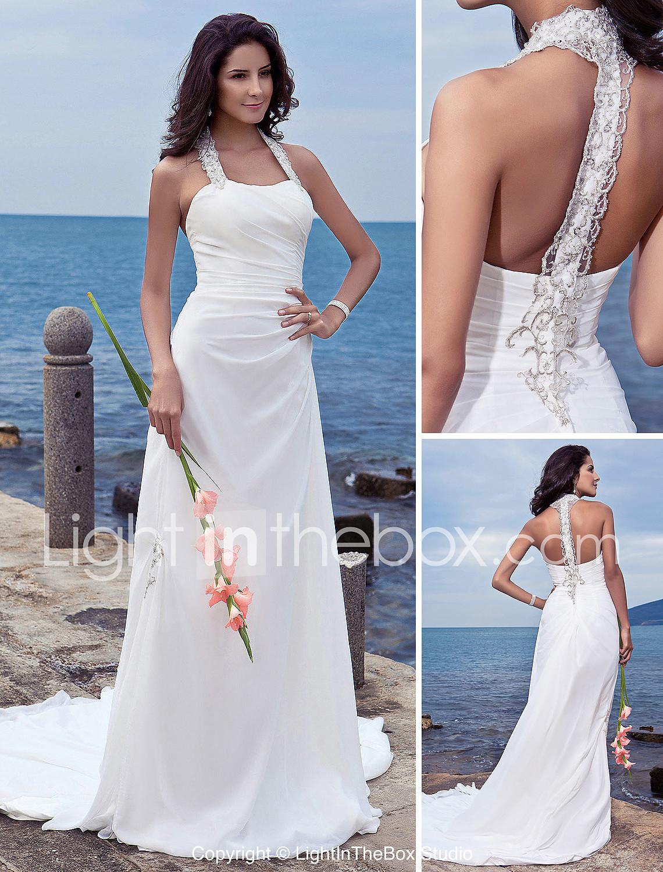 Sheath Wedding Dresses Plus Size Sheath/column Plus Sizes