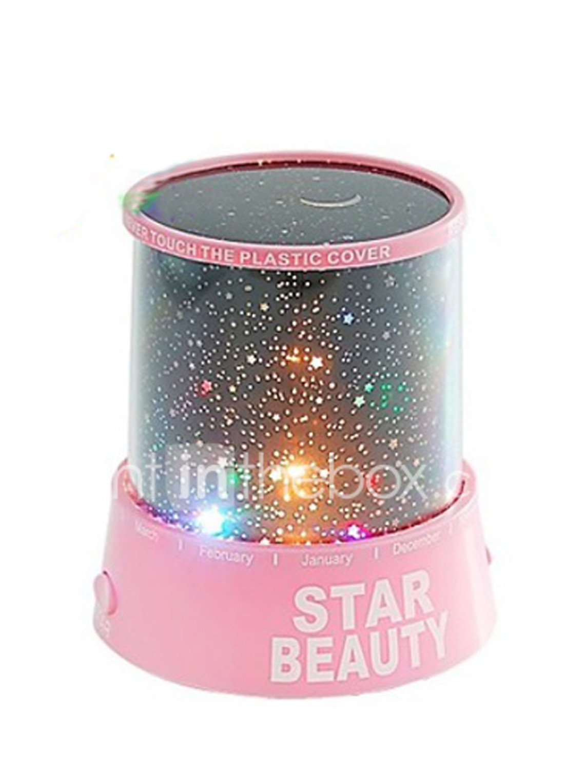 Led night light south africa - Starry Night Sky Projector Colorful Led Night Light Random Color Powered By 3 Aa